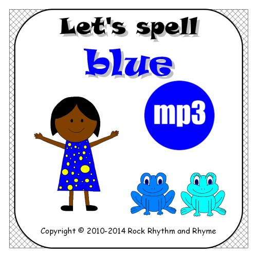 Blue mp3 - cover