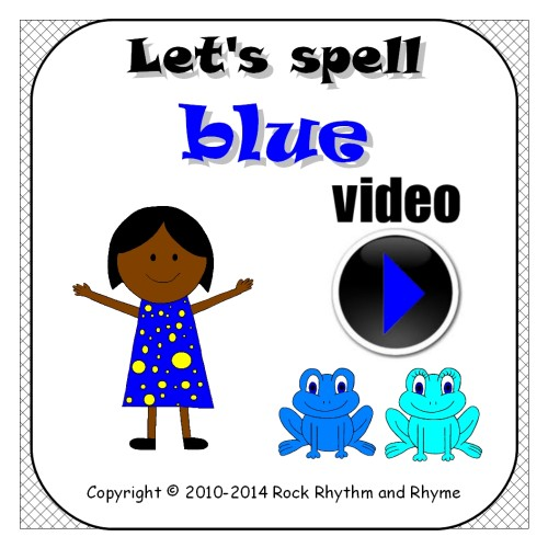 Blue video - cover