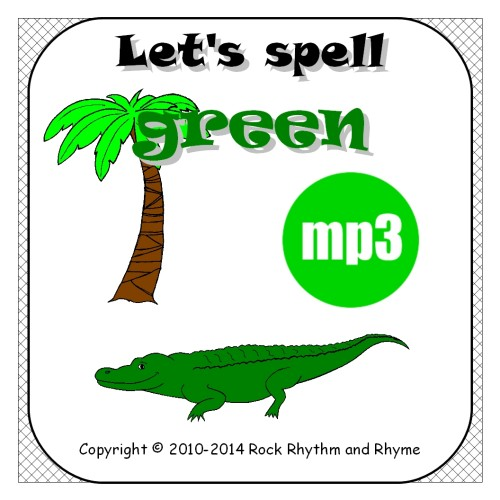 Green mp3 - cover