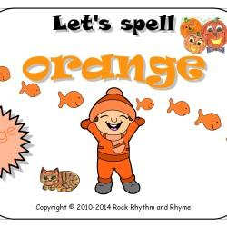 Orange - cover