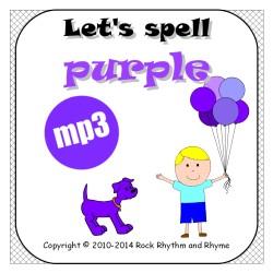 Purple mp3 - cover