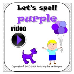 Purple video - cover