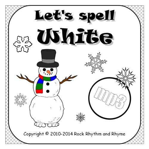 White mp3 - cover