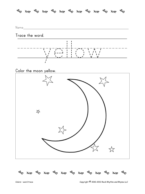 Worksheets Let's Spell Yellow Rock Rhythm And Rhyme. Worksheets Let's Spell Yellow. Worksheet. Color Yellow Worksheets At Mspartners.co