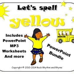 Yellow PowerPoint Bundle