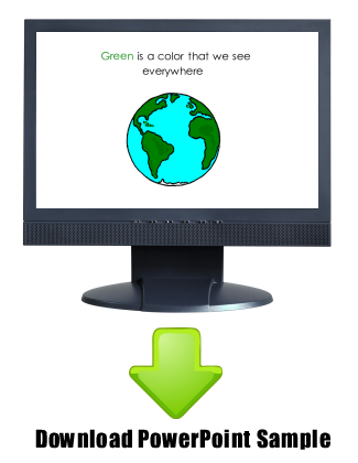 Let's Spell Green - sample